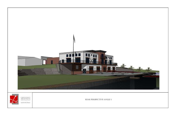Rowing Center Front